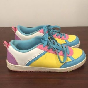 Rue21 Pastel Sneakers Sz M (7/8)